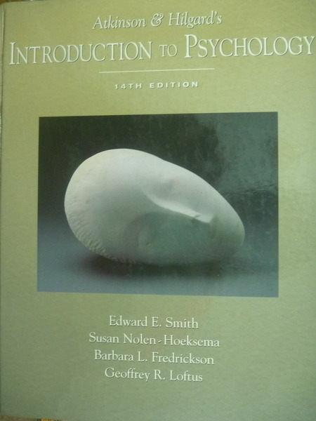 【書寶二手書T2/大學理工醫_QXY】Atkinson and Hilgards Introduction to...