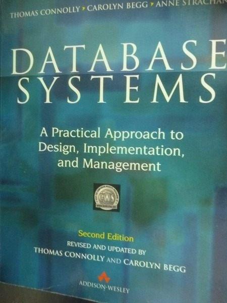 ~書寶 書T2/電腦_QYD~Database Systems_Thomas M. Con