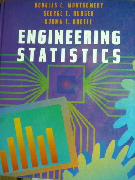 【書寶二手書T4/大學理工醫_QXX】Engineering Stsistics_Montgomery,etc_原文書