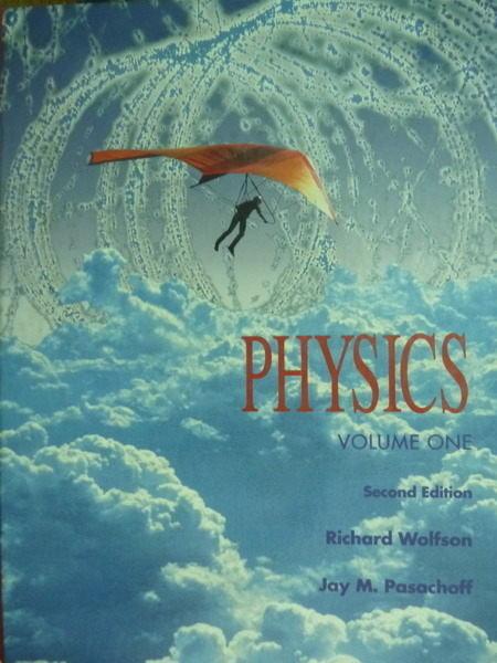 ~書寶 書T2/大學理工醫_PFI~PHYSICS VOLUME 1_Richard Wo
