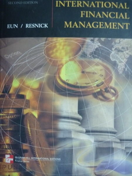 【書寶二手書T5/大學商學_QXG】International Financial Management_Eun/Res