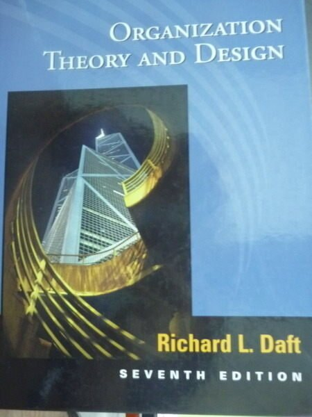 【書寶二手書T5/大學商學_PMG】Organization Theory and Design_Richard L.D
