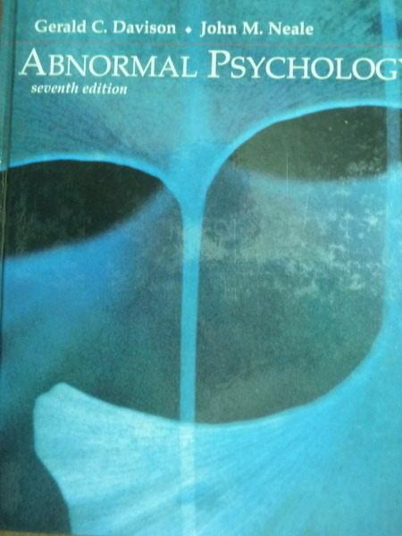~書寶 書T4/大學理工醫_QXG~Abnormal Psychology_Davison