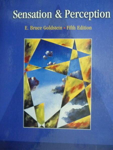 【書寶二手書T8/大學理工醫_QXG】Sensation & Perception_Goldstein.