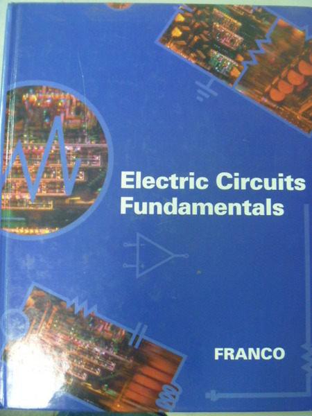 ~書寶 書T8/大學理工醫_QXN~Electric Circuits Fundament