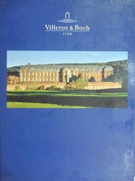 【書寶二手書T8/財經企管_YKT】Villeroy&Boch_1748-1998_260年的歐洲工業史