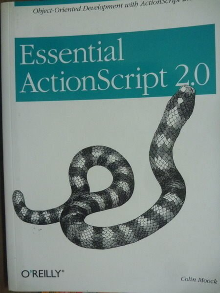 【書寶二手書T4/大學資訊_PKF】Essential ActionScript 2.0_Moock