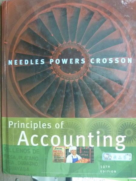 【書寶二手書T5/大學商學_PMB】Principles of Accounting_Needles,etc_10/e