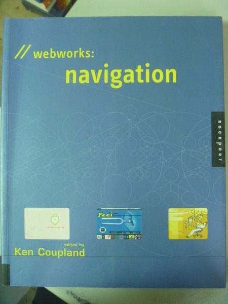 【書寶二手書T4/網路_ZEF】Webworks : navigation_原價1400_DANIELSON