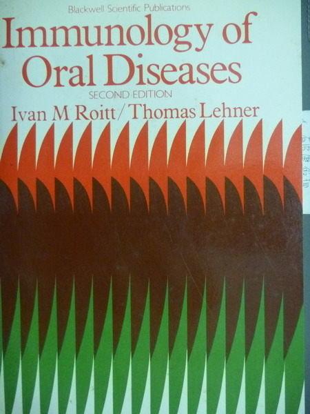 【書寶二手書T3/大學理工醫_PIO】Immunology of Oral Diseases_2/e