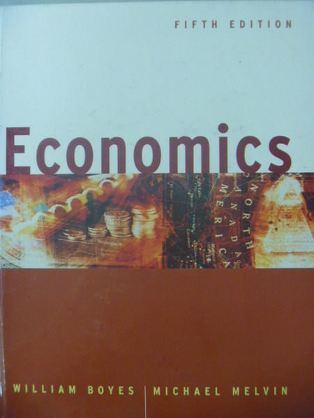 【書寶二手書T5/大學商學_ZCT】Economics_Boyes, William_5/e