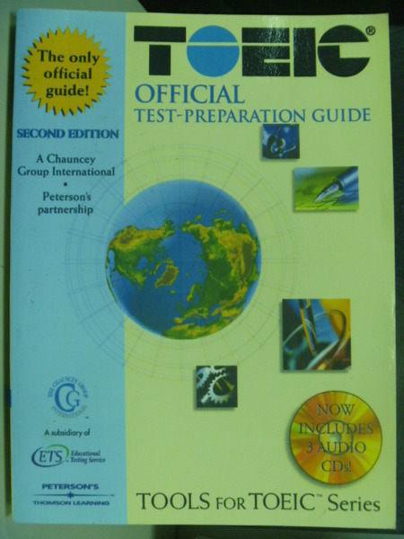 【書寶二手書T3/語言學習_PJS】Toeic official Test-Prepare Guide
