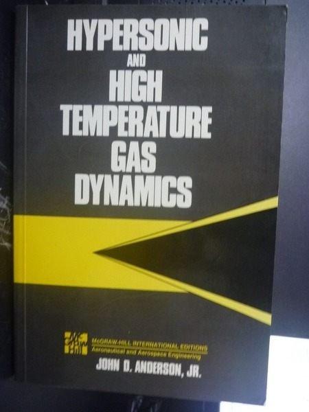 【書寶二手書T3/大學理工醫_QIT】Hypersonic and High