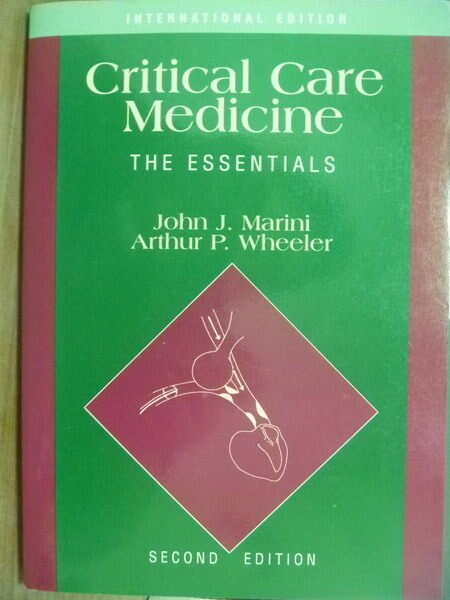 【書寶二手書T8/大學理工醫_PHX】Critical Care Medicine_Marini,etc_2/e