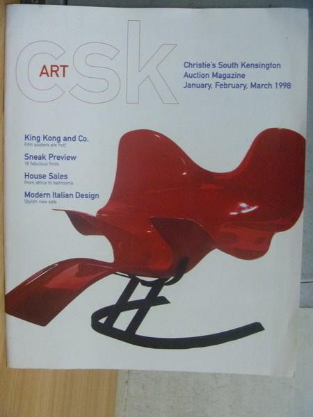 【書寶二手書T5/收藏_PCF】Christies_1998/1~3_Modern Ltalian Design等