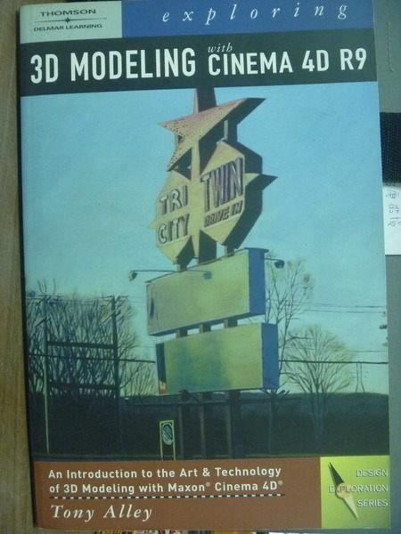 【書寶二手書T5/大學資訊_PFE】Exploring 3D Modeling…_Alley_有光碟