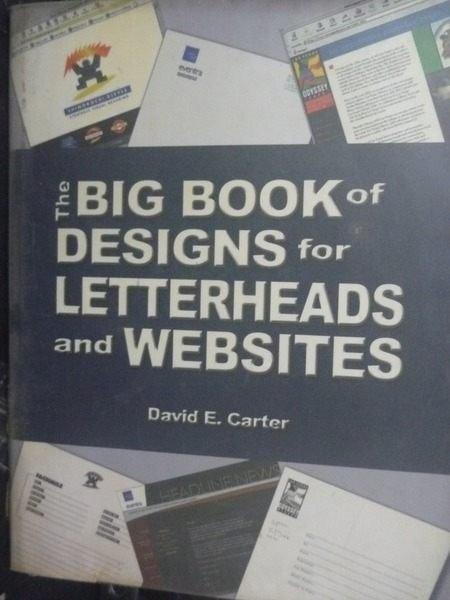 【書寶二手書T5/廣告_ZEZ】Big book of designs for