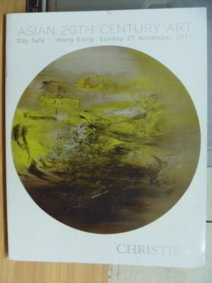 【書寶二手書T4/收藏_ZJL】Christies_2011/11_Asian 20th Century Art