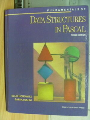 ~書寶 書T5/大學理工醫_ZJM~Data Structures in Pascal_3
