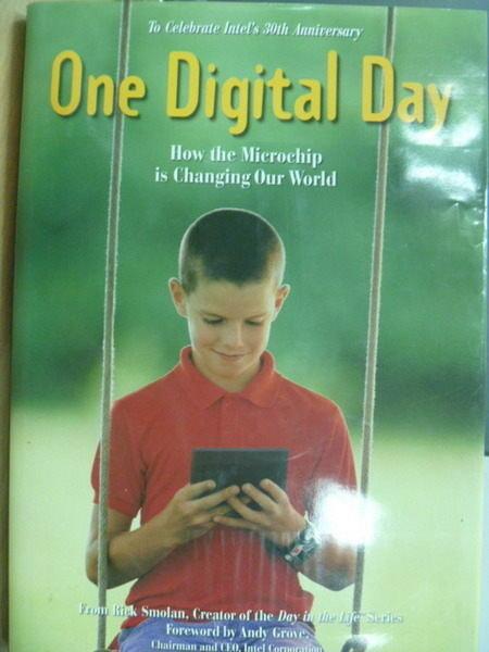 【書寶二手書T8/電腦_ZIO】One Digital Day