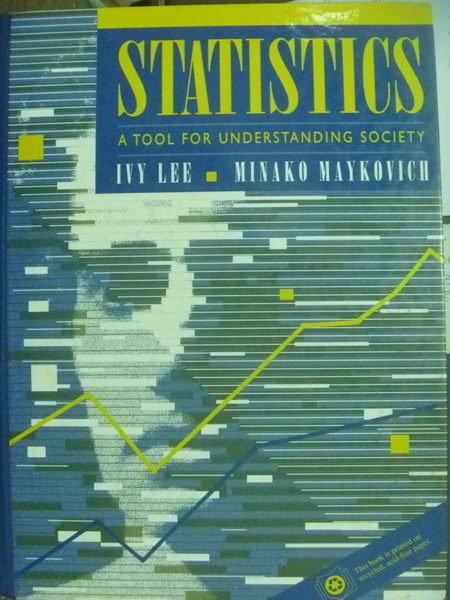 【書寶二手書T3/大學理工醫_QNE】Statistics_Lee,Maykovich.