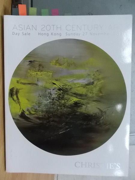 【書寶二手書T6/收藏_YBY】Christies_2011/11/27_20th Century Art