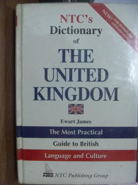 【書寶二手書T6/字典_PAJ】NTCs Dictionary of THE UNITED KINGDOM