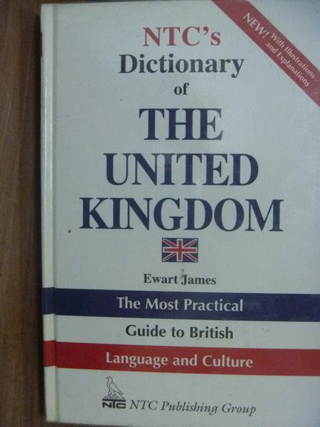【書寶二手書T9/字典_PAL】NTCs Dictionary of THE UNITED KINGDOM