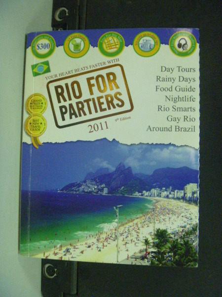 【書寶二手書T3/旅遊_JAS】Rio for Partiers_Nogueira_附地圖