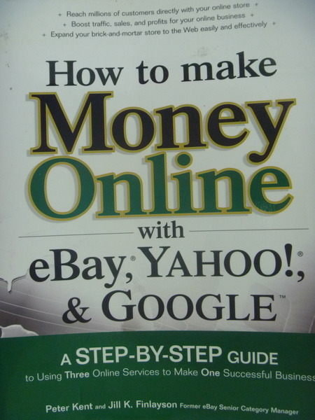 【書寶二手書T9/財經企管_QKV】How to make money online…_Kent