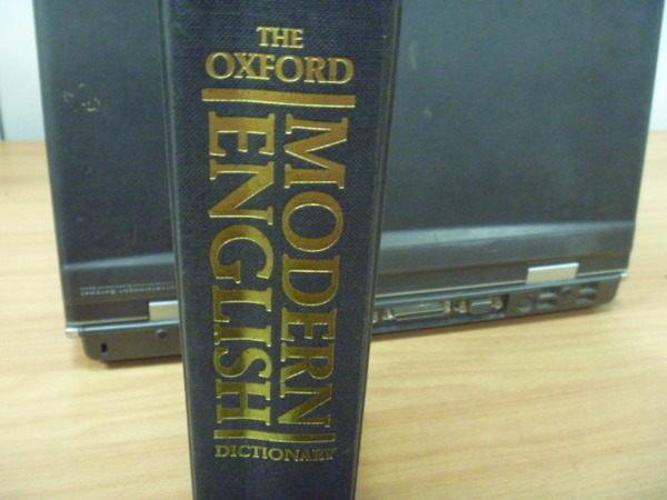 【書寶二手書T2/語言學習_YDX】Oxford Modern English Dictionary_1992年