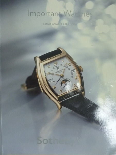 【書寶二手書T3/收藏_WDD】Sothebys_2009/4/7_Important Watches