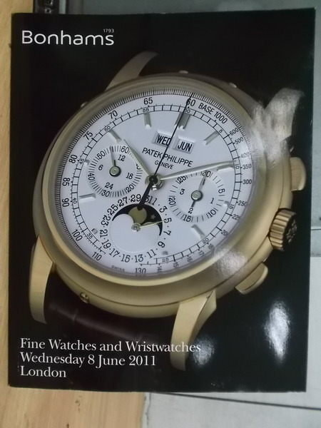 【書寶二手書T3/收藏_YAW】Bonhams_2011/6/8_Fine Watches and…