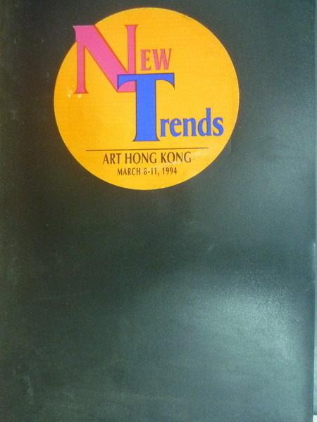 【書寶二手書T5/建築_PPW】New Trends_1994年_景觀雕塑_楊英風美術館館刊