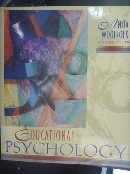 ~書寶 書T8/大學理工醫_ZCM~Educational psychology ~  好