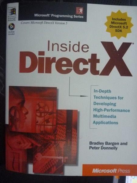 ~書寶 書T7/電腦_ZCV~Inside Directx _Bargen Bradley