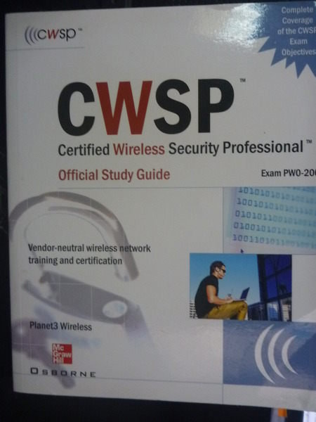 【書寶二手書T2/電腦_ZCV】CWSP Certified Wireless Security