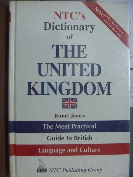 【書寶二手書T5/字典_QXU】NTCs Dictionary of THE…KINGDOM