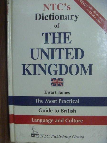 【書寶二手書T8/字典_QXT】NTCs Dictionary of THE…KINGDOM