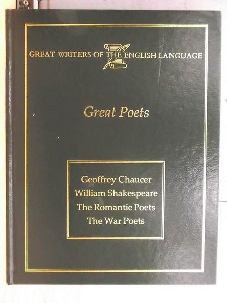 【書寶二手書T7/藝術_YGJ】Great Poets