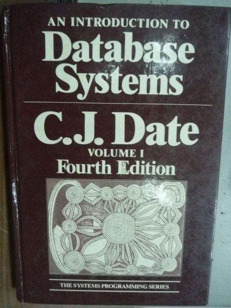 【書寶二手書T6/電腦_HDE】Database Systems_4/e_Vol.1