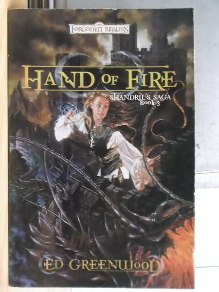 【書寶二手書T4/原文小說_XEC】Hand of Fire_Shandrils Saga book3