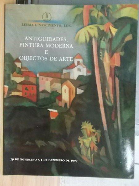 【書寶二手書T7/收藏_WET】Antiguidades, Pintura...Arte_1990