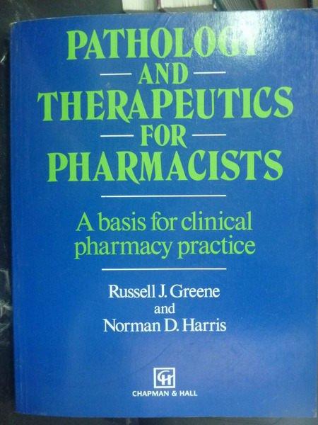 【書寶二手書T8/大學理工醫_ZAQ】Pathology & Therapeutics