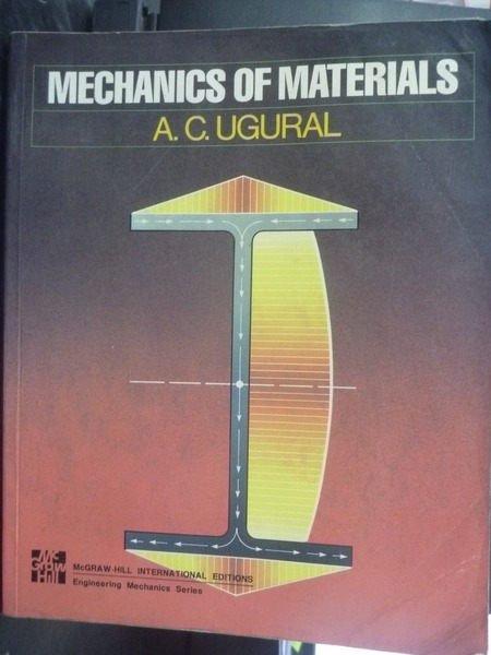 【書寶二手書T2/大學理工醫_ZBS】Mechanics of Materials