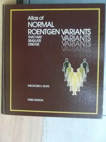 ~書寶 書T6/大學理工醫_WHA~Atlas of Normal...Disease_1
