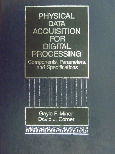 【書寶二手書T3/大學理工醫_WFT】Physical Data...Digital Processing_1992