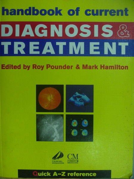 【書寶二手書T8/大學理工醫_MGM】Diagnosis & Treatment_1995年