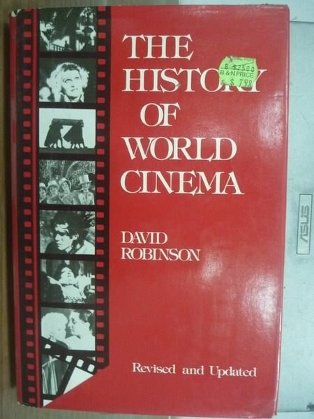【書寶二手書T4/影視_HNY】The history of world cinema _Robinson
