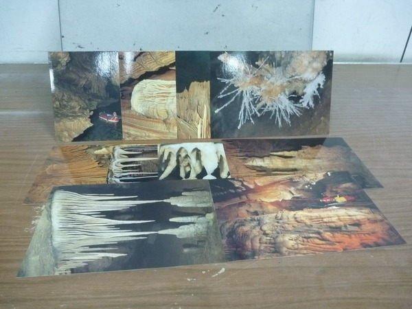 【書寶二手書T2/攝影_HHU】韓國洞窟_石東-洞窟之美攝影展_10張明信片合售